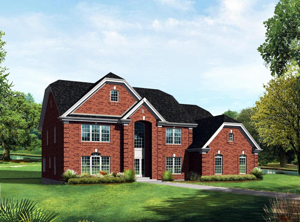 Farmhouse With Garage House Plans