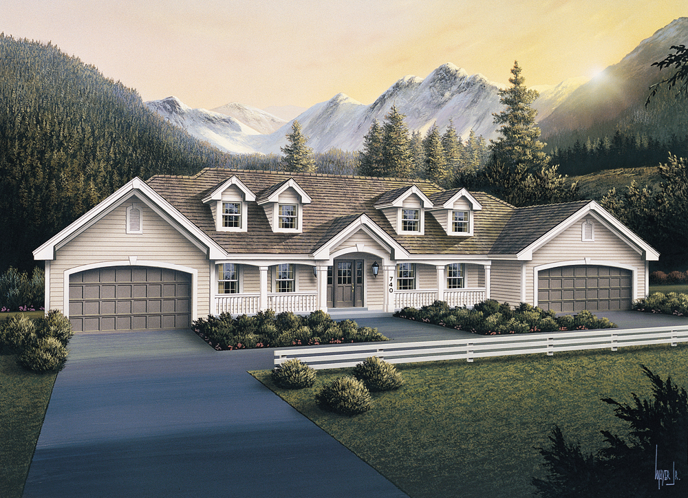 Floor Plan And Elevation Of A House : Multi unit house plan  bedrm sq ft per
