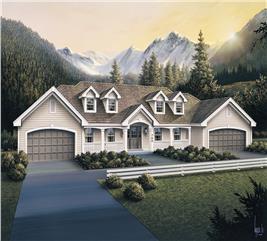 House Plan #138-1105