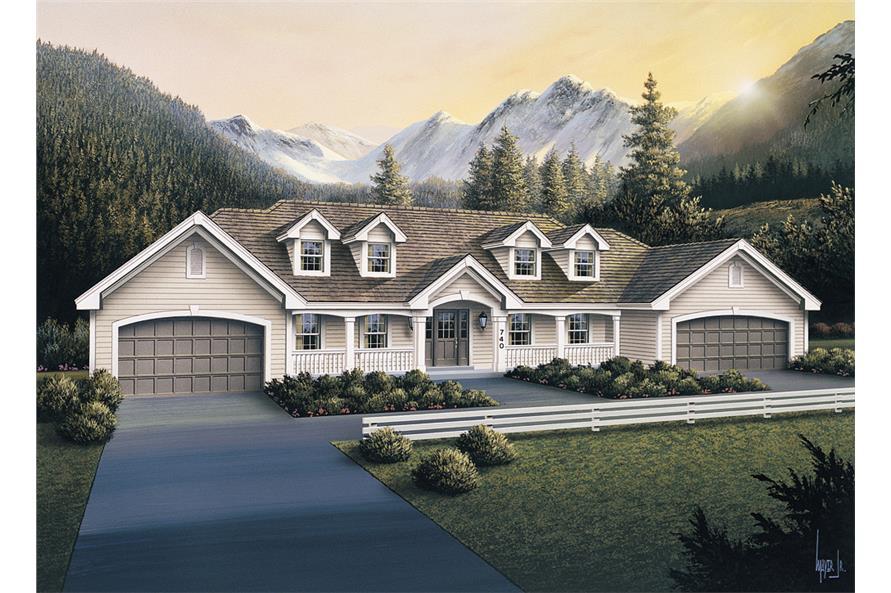 Multi unit house plan 138 1105 3 bedrm 3484 sq ft per for Multi unit home plans