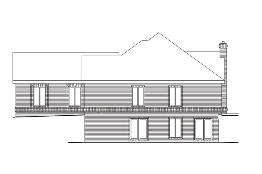 138-1109: Home Plan Right Elevation