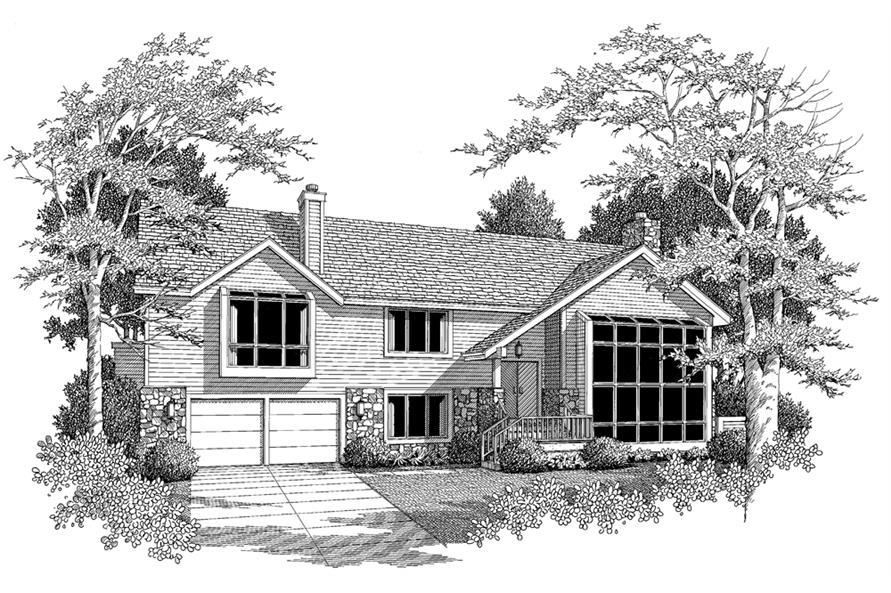 138-1112: Home Plan Rendering