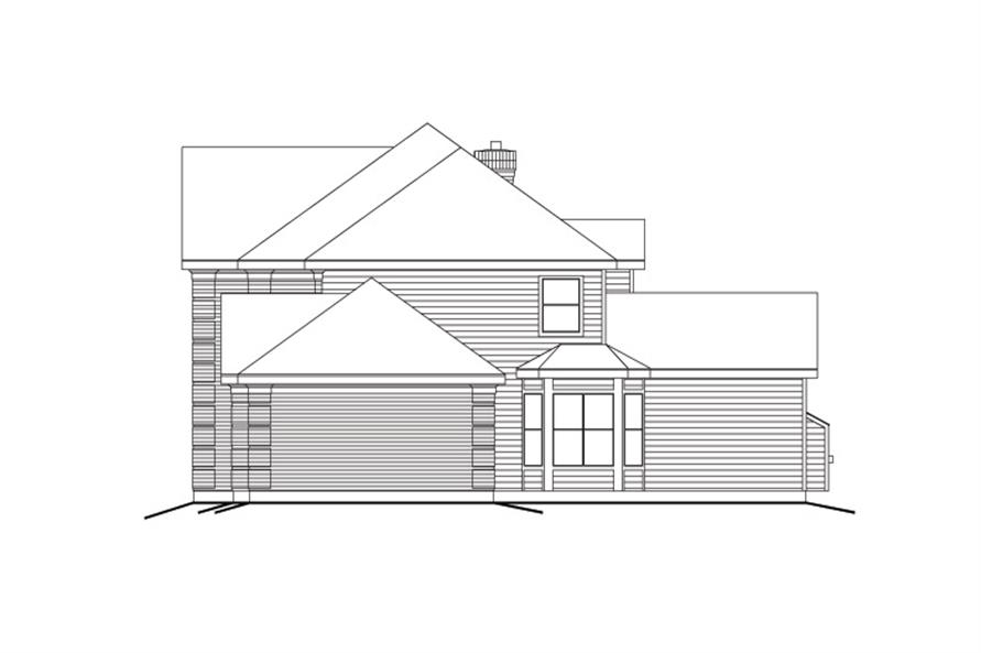 138-1113: Home Plan Right Elevation