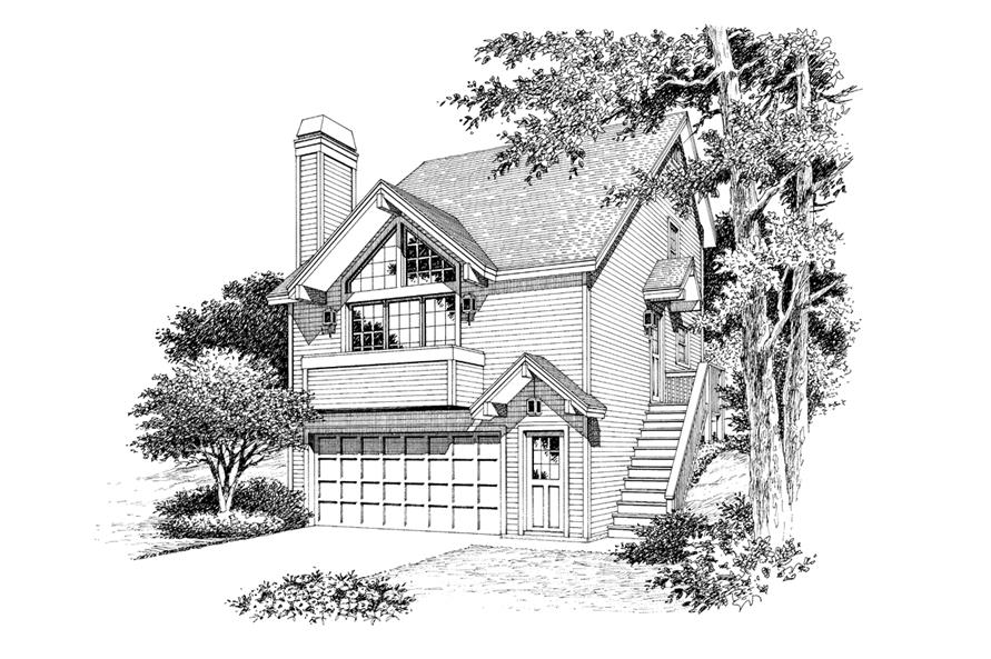 138-1116: Home Plan Rendering
