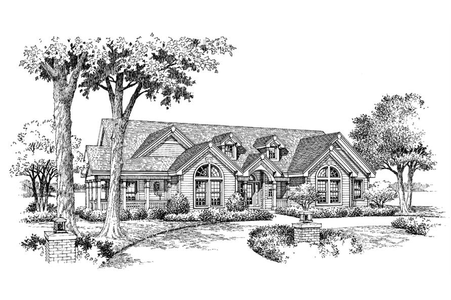 138-1117: Home Plan Rendering