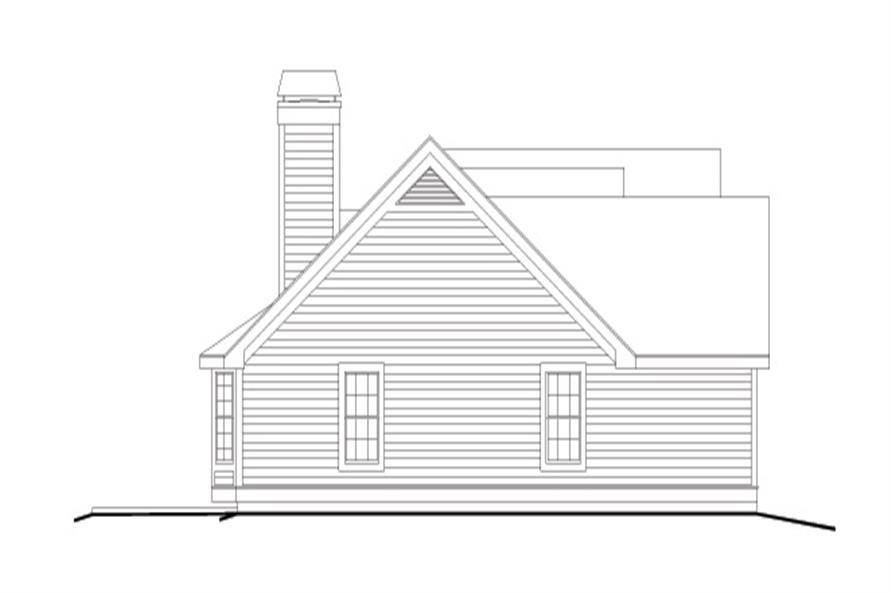 138-1118: Home Plan Left Elevation