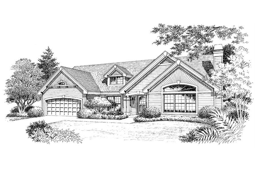 138-1118: Home Plan Rendering