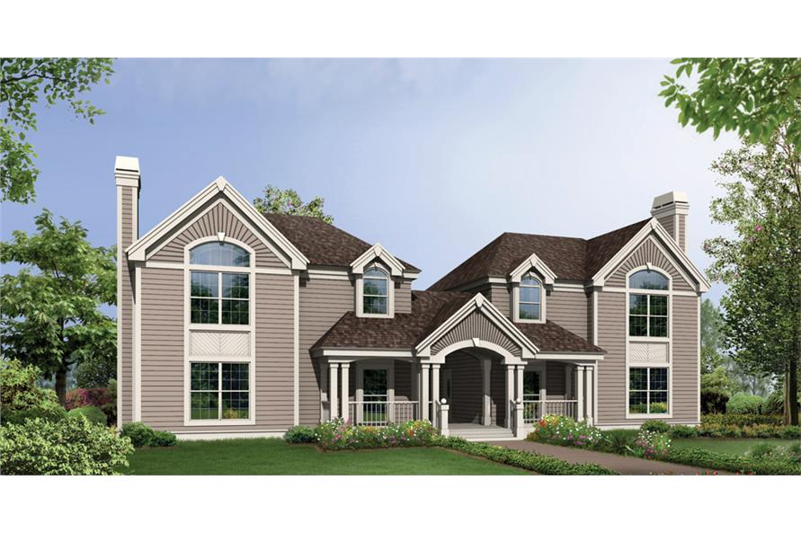 3-Bedroom, 3502 Sq Ft Multi-Unit Home Plan - 138-1119 - Main Exterior
