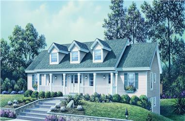1-Bedroom, 2901 Sq Ft Multi-Unit Home Plan - 138-1120 - Main Exterior
