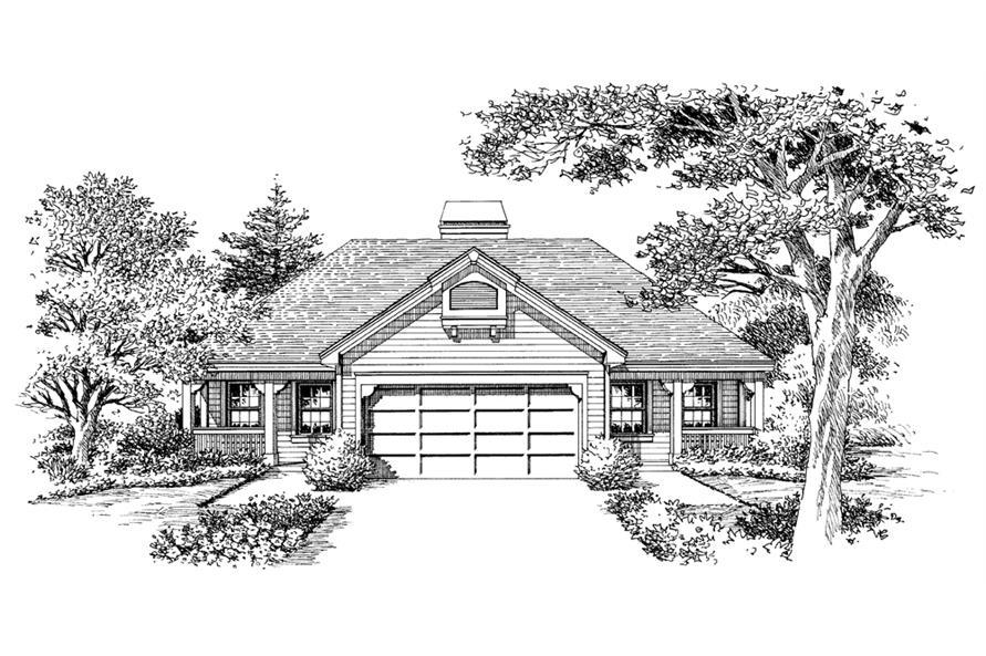138-1123: Home Plan Rendering