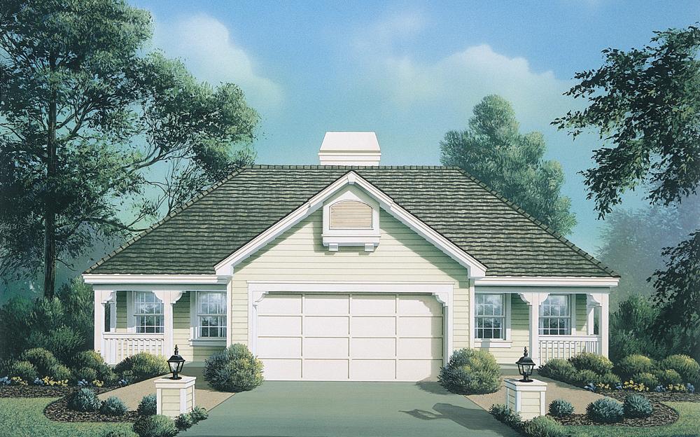 Multi unit house plan 138 1123 1 bedrm 844 sq ft per for Multi unit house plans