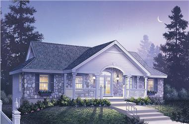 6-Bedroom, 2986 Sq Ft Multi-Unit Home Plan - 138-1124 - Main Exterior