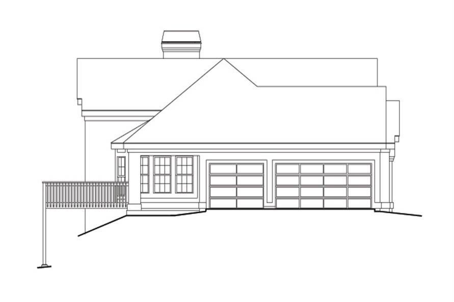 138-1126: Home Plan Left Elevation