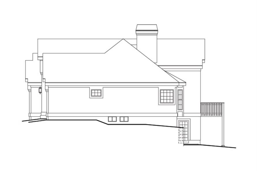 138-1126: Home Plan Right Elevation