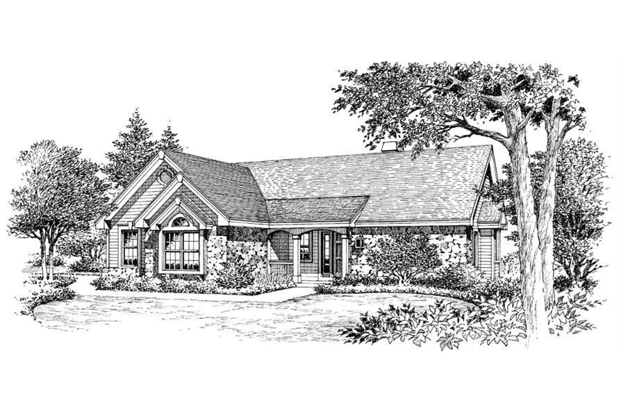 138-1127: Home Plan Rendering
