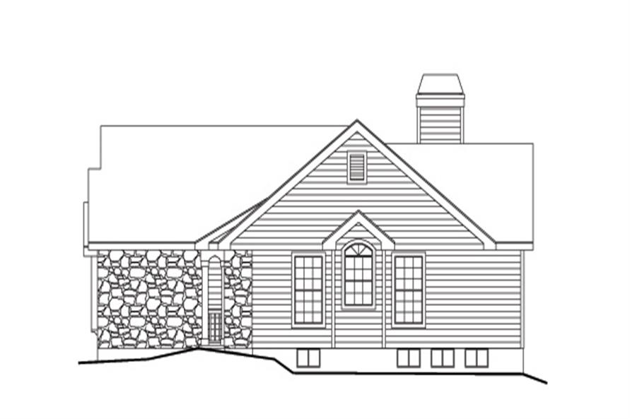 138-1127: Home Plan Right Elevation