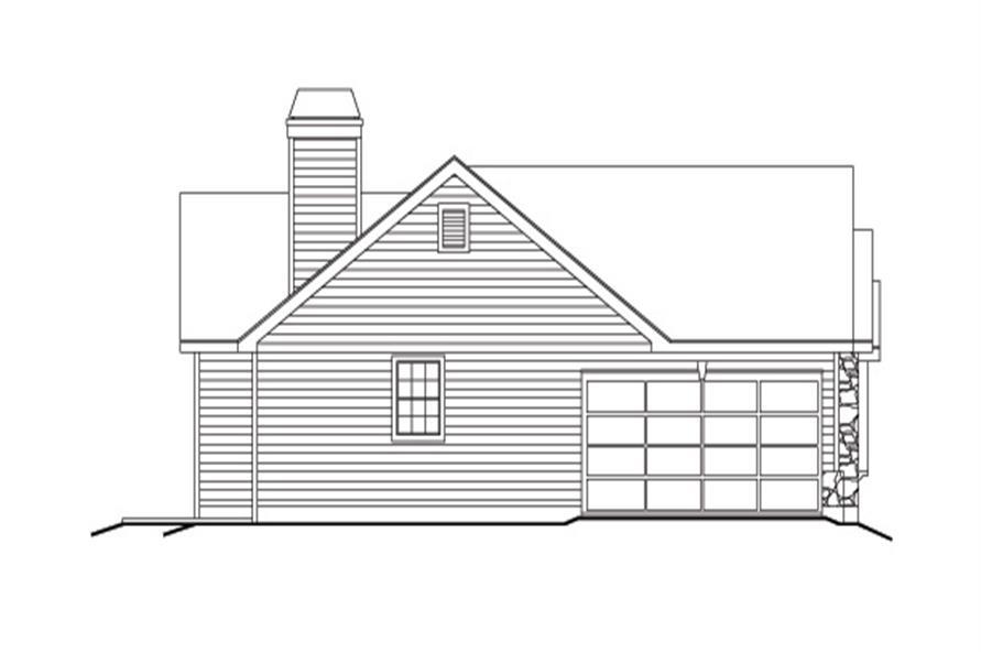 138-1127: Home Plan Left Elevation