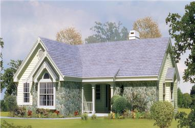 2-Bedroom, 1248 Sq Ft Ranch Home Plan - 138-1127 - Main Exterior