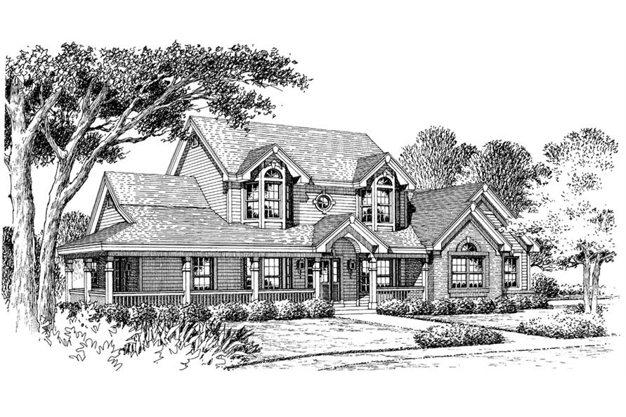 138-1128: Home Plan Rendering