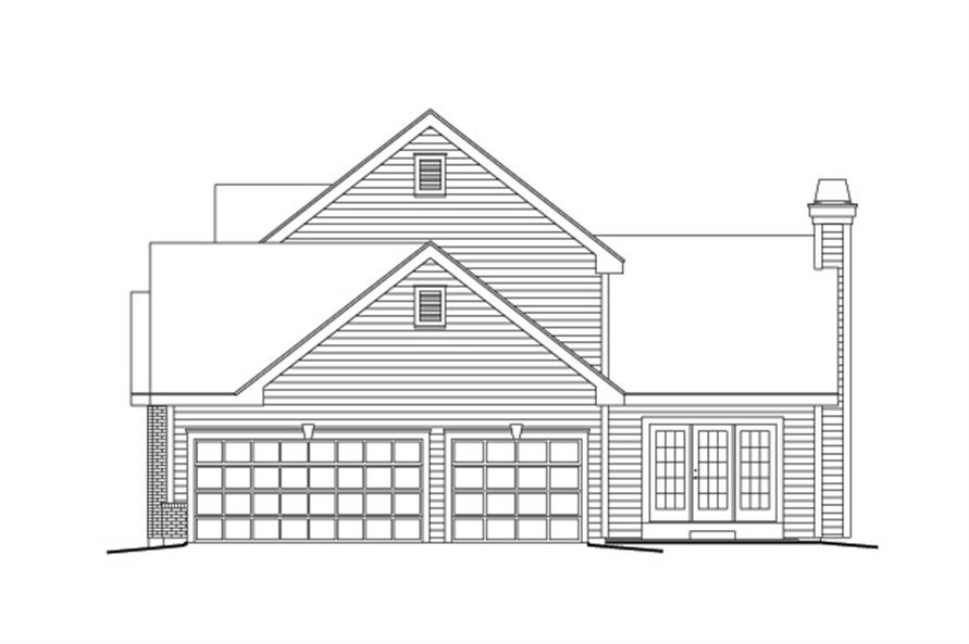 138-1128: Home Plan Right Elevation