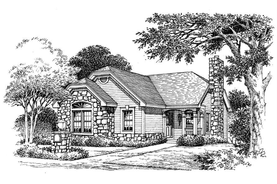 138-1131: Home Plan Rendering
