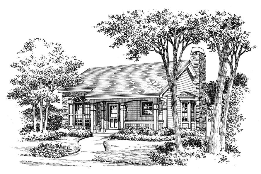 138-1132: Home Plan Rendering