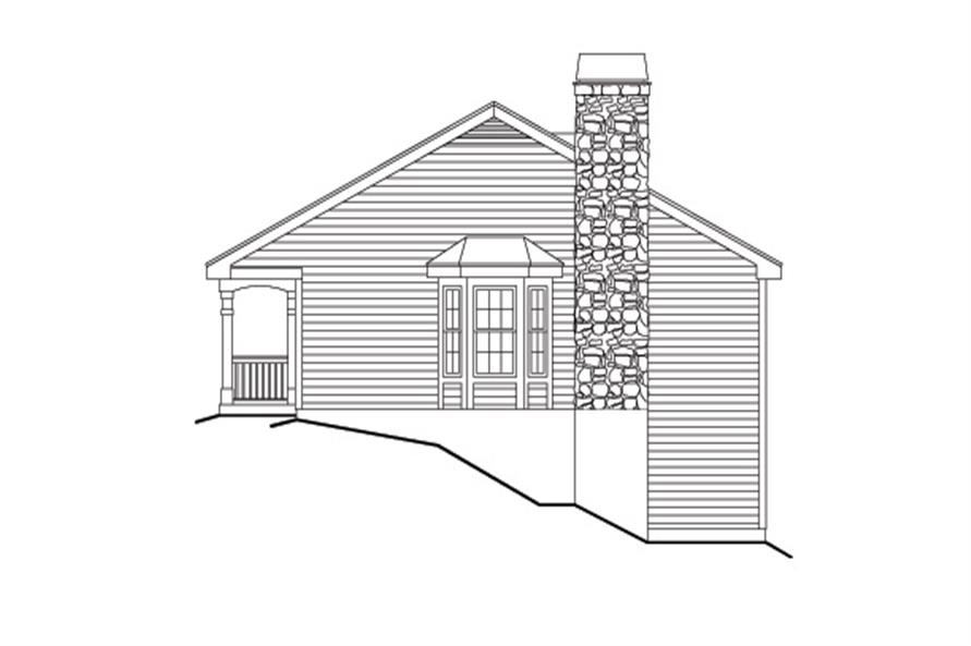 138-1132: Home Plan Right Elevation