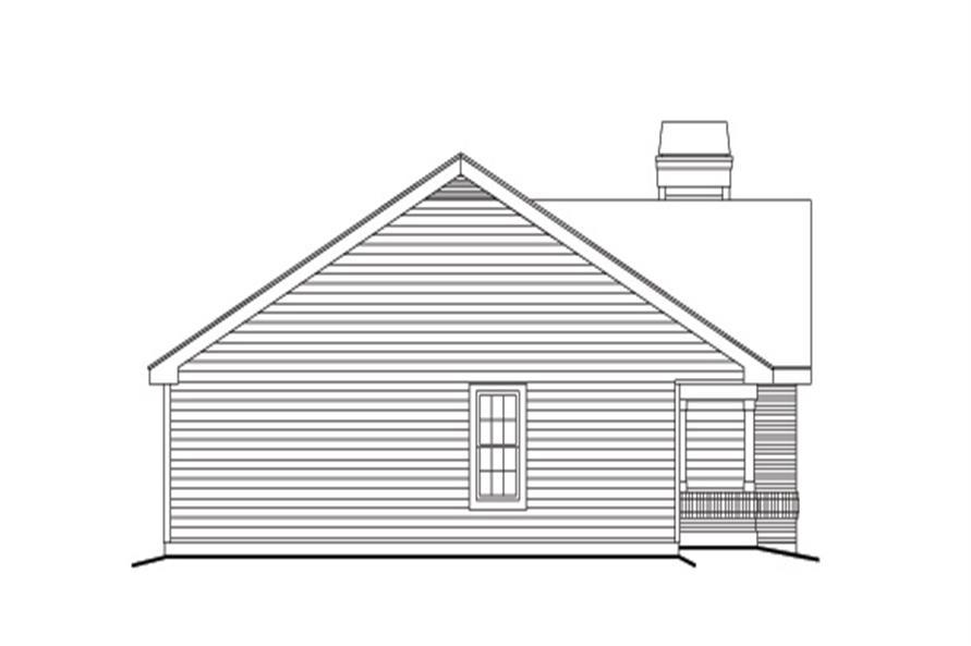 138-1135: Home Plan Left Elevation
