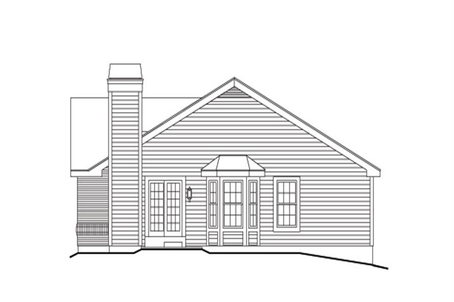 138-1135: Home Plan Right Elevation