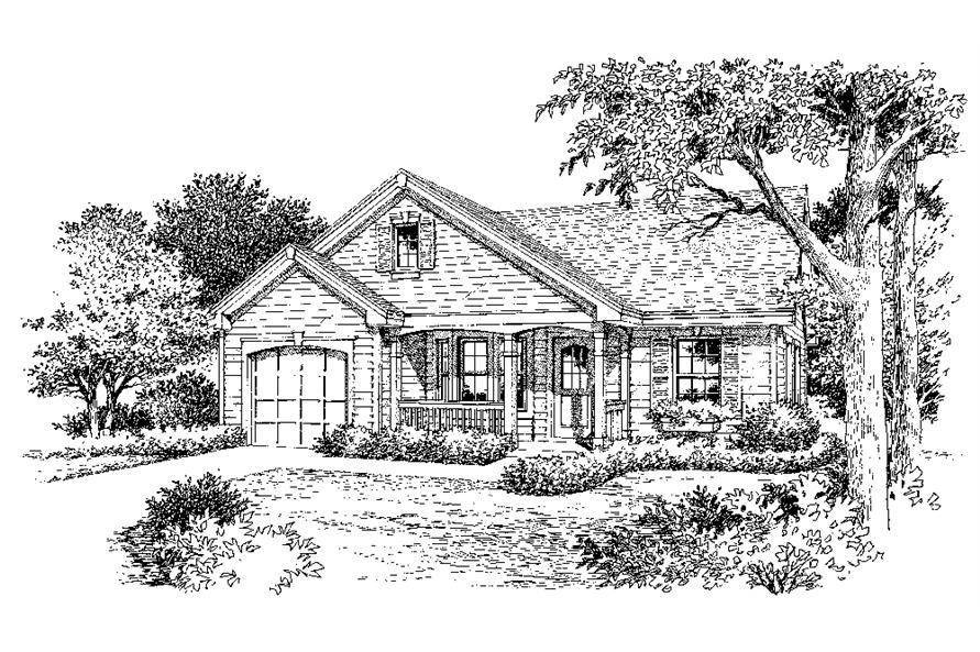 138-1137: Home Plan Rendering