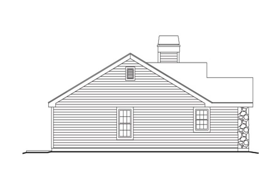 138-1138: Home Plan Left Elevation