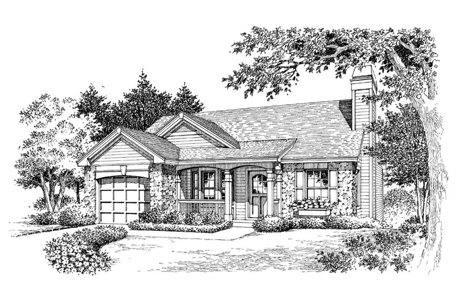 138-1138: Home Plan Rendering