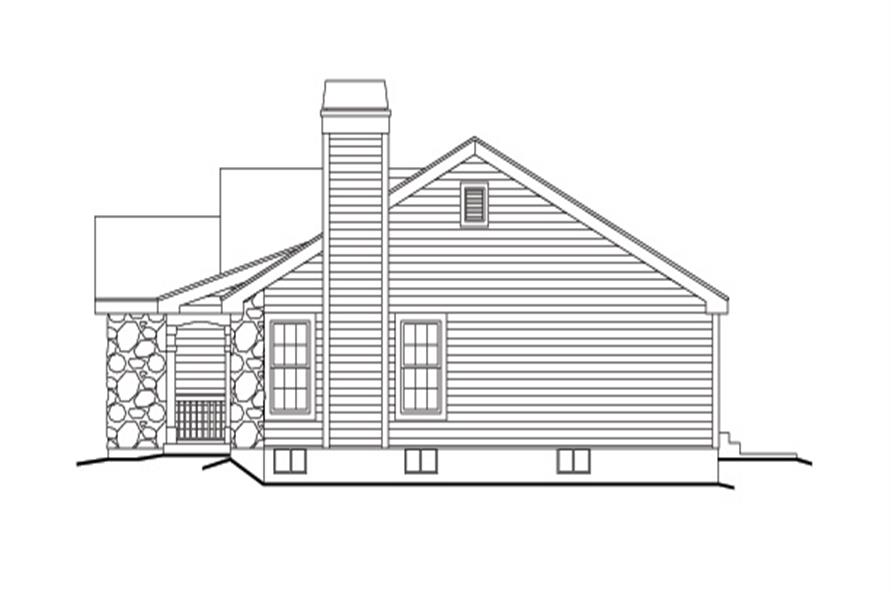 138-1138: Home Plan Right Elevation