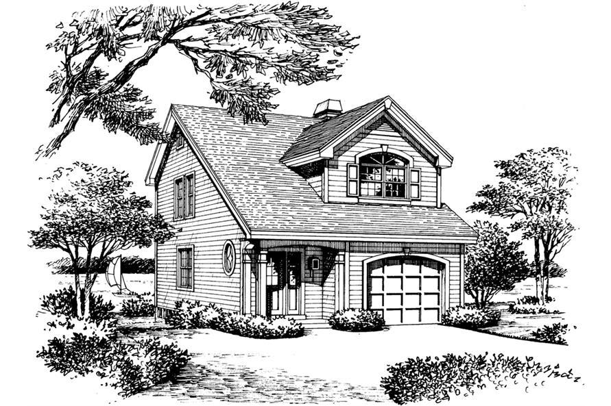 138-1139: Home Plan Rendering