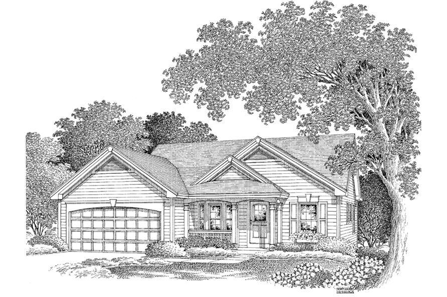 138-1140: Home Plan Rendering