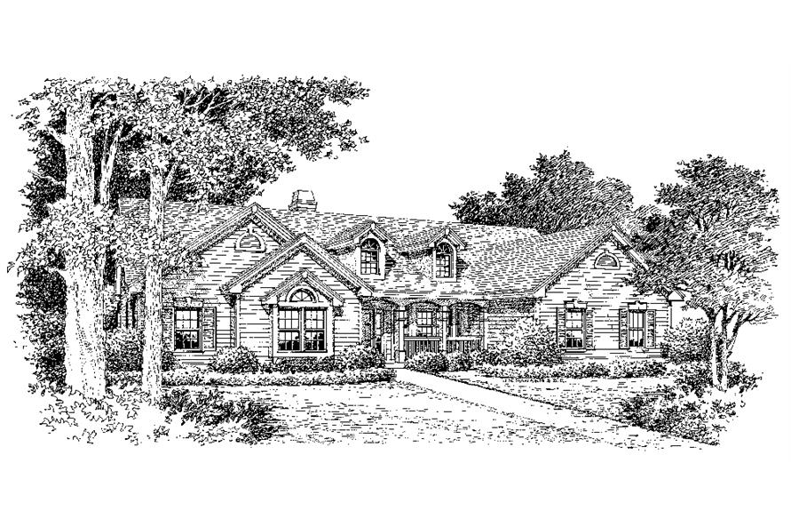 138-1141: Home Plan Rendering