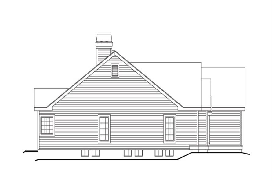 138-1141: Home Plan Left Elevation