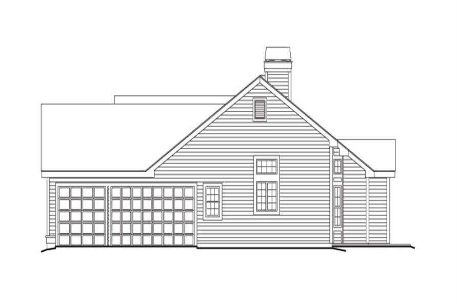 138-1141: Home Plan Right Elevation