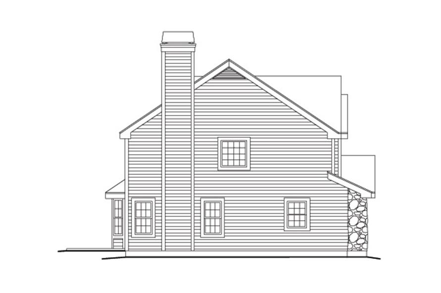 138-1142: Home Plan Left Elevation