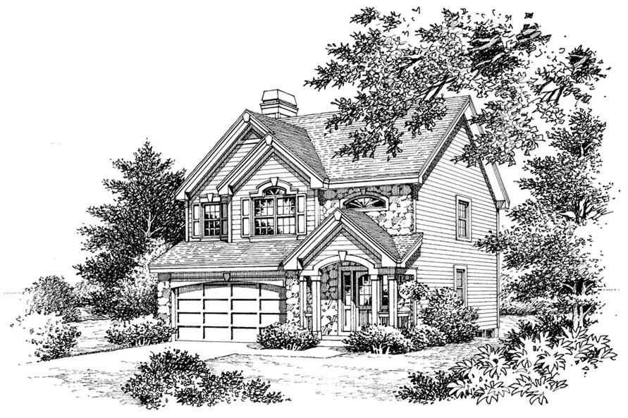 138-1142: Home Plan Rendering