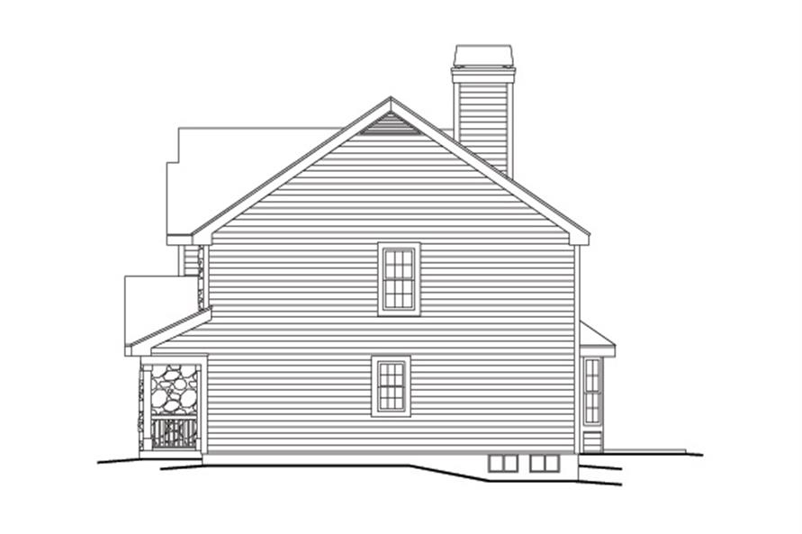 138-1142: Home Plan Right Elevation
