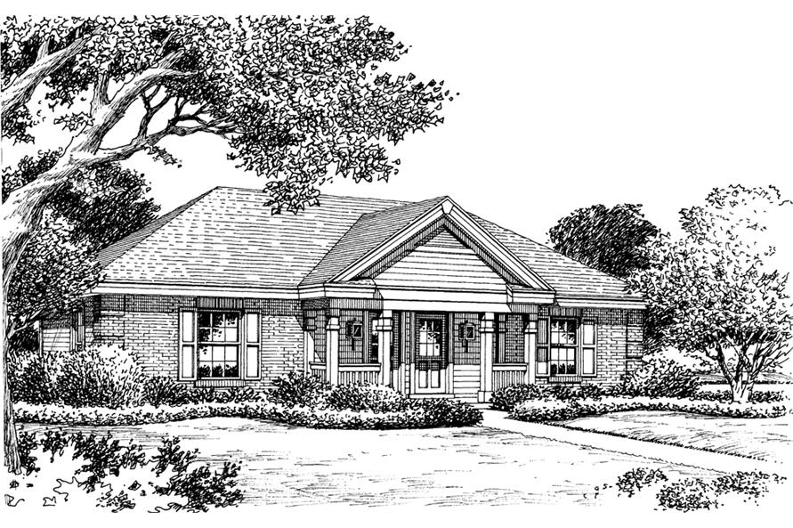 138-1143: Home Plan Rendering