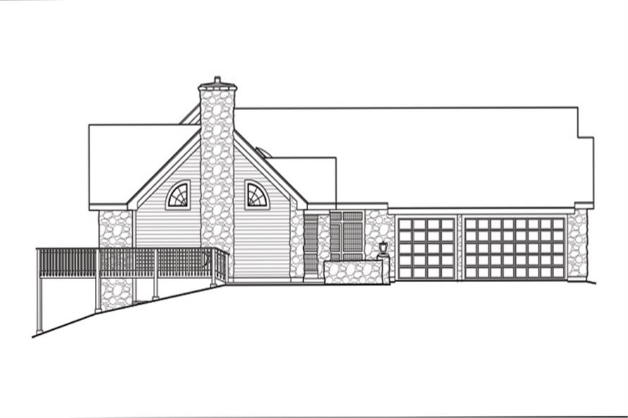 138-1144: Home Plan Left Elevation