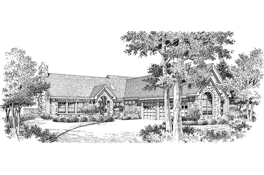 138-1144: Home Plan Rendering