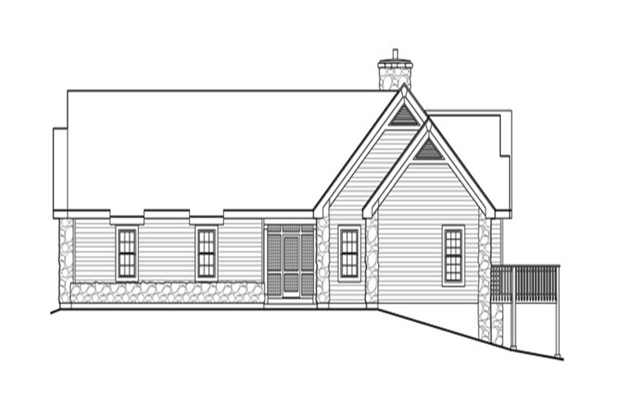 138-1144: Home Plan Right Elevation