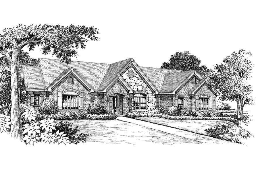 Traditional house plan 138 1145 3 bedrm 2695 sq ft home for Home plans com