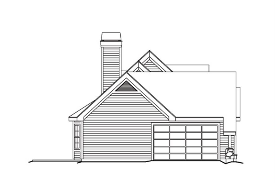 138-1146: Home Plan Left Elevation
