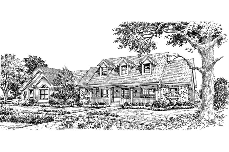 138-1146: Home Plan Rendering