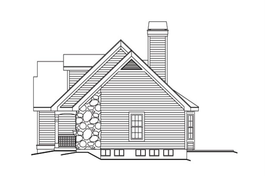 138-1146: Home Plan Right Elevation
