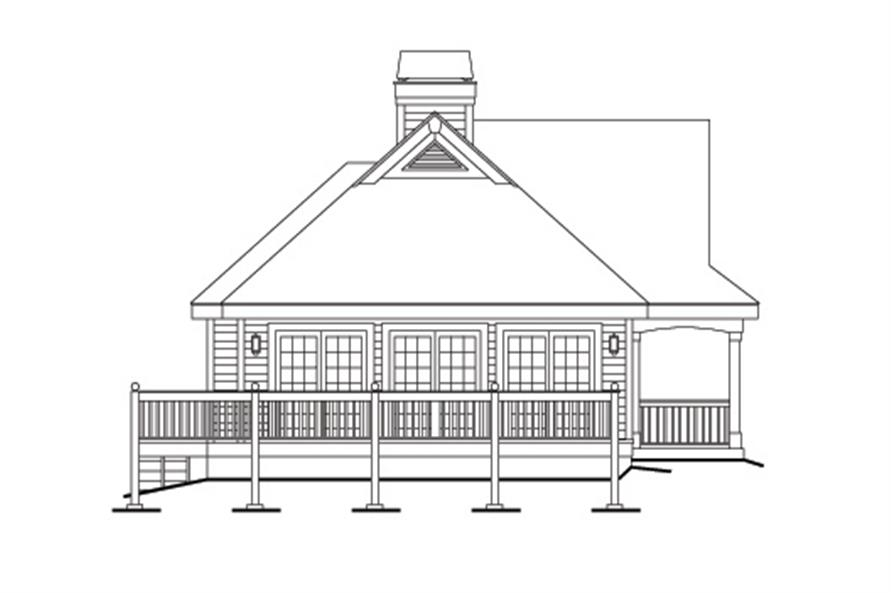 138-1147: Home Plan Left Elevation